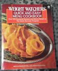 Weight Watchers QUICK  EASY MENU Cookbook 250+ Recipes based on Quick Success