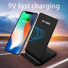 Qi Wireless Fast Charger Charging Stand Dock Samsung Galaxy S8+ iPhone X 8 LOTRF