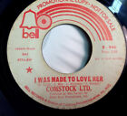BOBBY COMSTOCK LTD I Was Made To Love Her Breakout BELL 946 Soul 7 45
