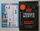 ANTHONY HOROWITZ TRIGGER MORTIS SIGNED LINED DATED 1 1 UK H B 2015