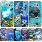 Lavaza ocean dolphin Dance And Jumping Hard Case Transparent for Samsung Galaxy