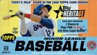 (1) 2015 Topps Heritage Minor League Baseball Factory Sealed Hobby Box