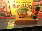 NOS in BOX propane Bernzomatic lantern original avacado model TX007 fuel