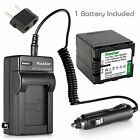VW VBN260 Battery  Travel Charger for Panasonic HC X800 X909 X910 X920 X920M