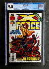 X-FORCE #56 CGC 9.8 MT NM+ WP DEADPOOL APPEARANCE! MERC WITH A MOUTH X-MEN
