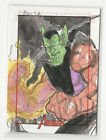 2012 Marvel Greatest Heroes Avengers Sketch Card by Thanh Bui 1 1