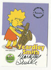 Yeardley Smith Inkworks The Simpsons 10th Anniversary Autograph Card Lisa #A3