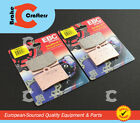 1996 - 1998 LAVERDA 668 STRIKE - FRONT EBC HH RATED SINTERED BRAKE PADS - 2 PAIR