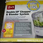 The Biggest Loser 2 In 1 Double Up Chopper And Blender System By Taylor
