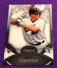 $200 MINT 2010 Bowman Sterling #17 Giancarlo Mike Stanton ROOKIE Card RC LOGO SP