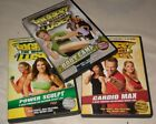 The Biggest Loser Workout dvd LOT of 3 Power Sculpt Cardio Max Boot Camp
