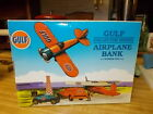 Gulf Collector Series Airplane Bank Number Two Diecast Metal Limited Edition