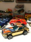 HOT WHEELS GOLDEN MACHINES Z WHIZ 1976 HONG KONG VHTF Darker Gold non redline