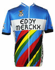 EDDY MERCKX Team Cycling Jersey Retro Road Pro Clothing MTB Short Sleeve Racing