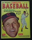 STAN MUSIAL on cover of 1953 Summer Issue BASEBALL Magazine 82-pages