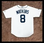 Eminem X Detroit Tigers 2018 Home Jersey LARGE Majestic Authentic MLB MATHERS