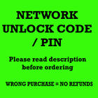 Samsung Galaxy S8 Active SM G892 UNLOCK CODE NETWORK UNLOCK PIN