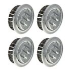 OEM NEW Wheel Hub Center Cap Set of 4 Silver w Logo 10 18 LaCrosse Regal Verano