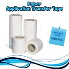 PAPER TAPE 4075 Application Transfer Tape Vinyl Signs Adhesive 6 x 300Ft