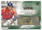 2014 Topps Simply Supreme Green #GS George Springer Rookie Autograph #39 45