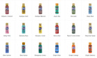 Americana Acrylic Paint 2 Oz Squeeze Bottles Various Colors New Free Shipping
