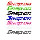 Snap-on Decal Multiple Sizes 18 Colors Free Shipping Tools Tool Box Sticker