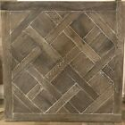 Solid Oak Aged Versailles Panel ex displayPerfect for vintage style table top