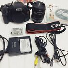 Canon EOS Rebel T3i EOS 600D 180MP Digital SLR Camera Black Kit w EF S IS