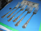 Son AA Silverplate Dinner Forks