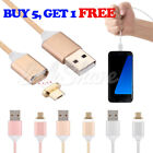 Magnetic USB Charger Cord Sync Data Cable Micro USB For i Phone Samsung HTC LG s