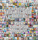 Exercise  Fitness DVD Lot 1 DISC ONLY Pick Items to Bundle and Save