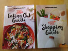 Weight Watchers Smart Points Member Books Eating Out Guide  Shopping Guide