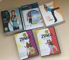 Lot of Workout DVDs 2 Silm in 6 2 Zumba and 1 Jillian Michaels Dumbbell