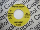Peter Best PROMO 45 record CAROUSEL OF LOVE Capitol 1967
