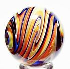 EDDIE SEESE ART GLASS MARBLES 1-13/16