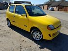 Barn Find Fiat Seicento 11 Sporting 500 66k with History