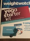 NEW Weight Watchers Yoga Starter Kit 2 Complete Workouts with DVD Complete