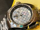 25119 Invicta Bolt Black Stainless Steel Band Metal White/Grey Dial Men's Watch