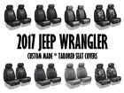 Coverking Tailored Front Seat Covers for 2017 Jeep Wrangler JK Made to Order