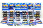 34 pc Hot Wheels Audi+Lotus+Porsche Car Lot Die Cast Metal 1991 2008 Mattel NOC