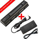 Battery for Toshiba Satellite L305D S5974 TS A200 L300 PA3534U 1BRS Laptop charg