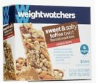 Weight Watchers Sweet  Salty Toffee Twist Snack Bars Unopened Box 4 Points