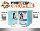 Pooch Pad Protection Training Dog Pads Thick  Soft XTRA Absorbent Puppy Pads