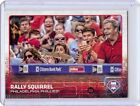 2015 TOPPS UPDATE PHOTO VARIATION PHILLIPPE AUMONT W RALLY SQUIRREL #US318B SP