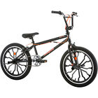 Freestyle Boys Rebel Mongoose BMX Bike 20 in Aluminum Wheels Alloy Pedals NEW
