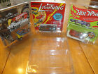 10 vintage protech car cases hot wheels topper johnny lightning redline 10 cases