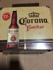 Rare Brand New Corona Familiar Metal Ice Chest Cooler With Lid Free Shipping