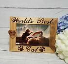 Pet Memorial Picture Frame Photo Frame for Dog or Cat Worlds Best cat Dog