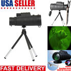 40X60 Zoom Optical HD Lens Monocular Telescope+ Tripod+ Clip Day