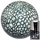 Alligator Print shift knob w black adapter for automatic shifters See desc